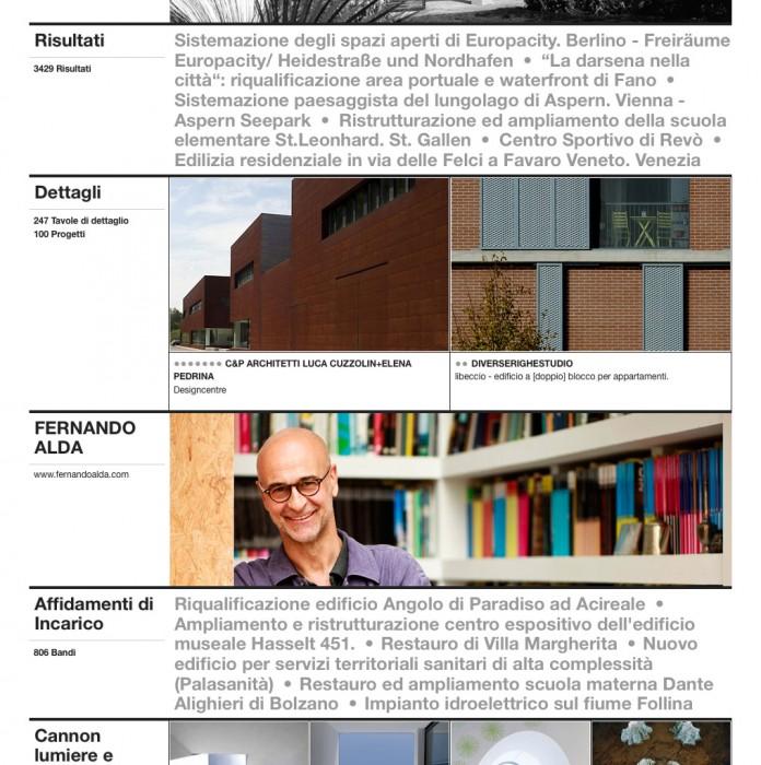 Fotógrafo de arquitectura Fernando Alda reportaje en Europaconcorsi