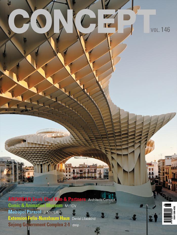 Metropol Parasol en la portada de la revista coreana CONCEPT Junio 2011