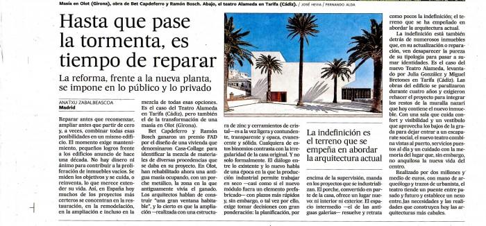 Teatro en Tarifa en El País