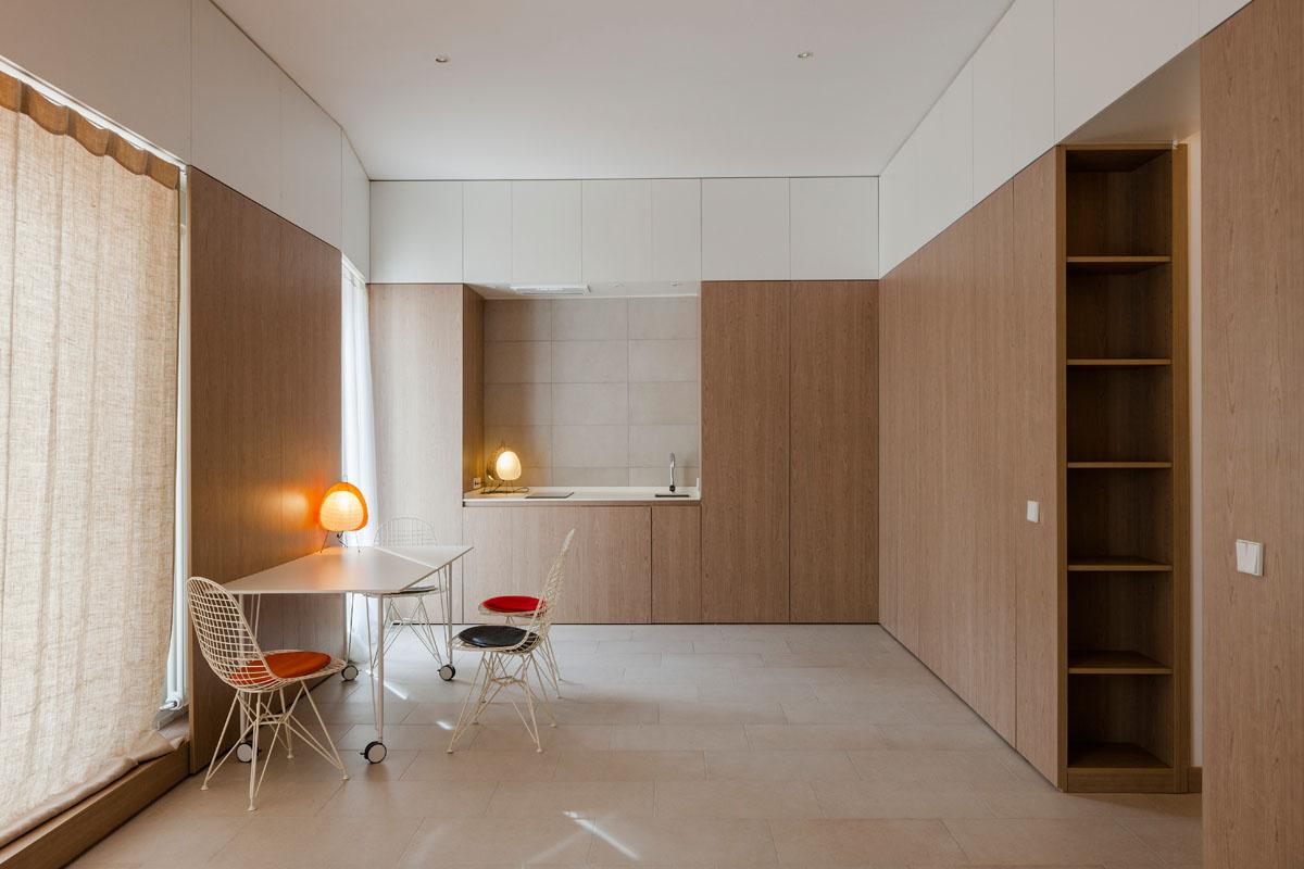 Apartamento en madrid for Cursos interiorismo madrid