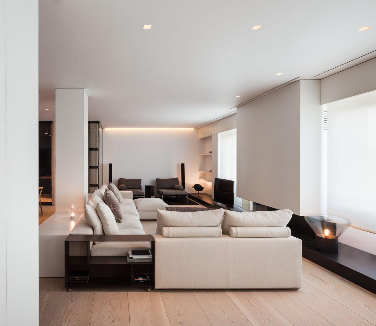Bg apartment for Soggiorno bianco e nero