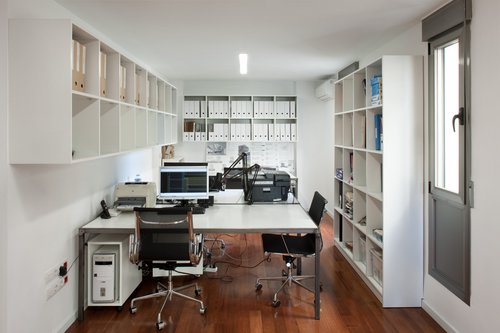 Estudio de arquitectura y local comercial for Estudios de arquitectura en madrid