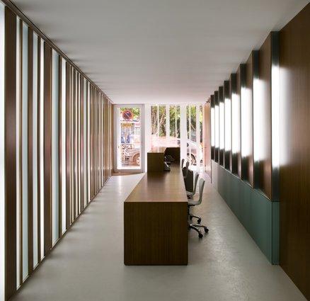 Oficina arquia caja de arquitectos for Caja de ingenieros oficinas