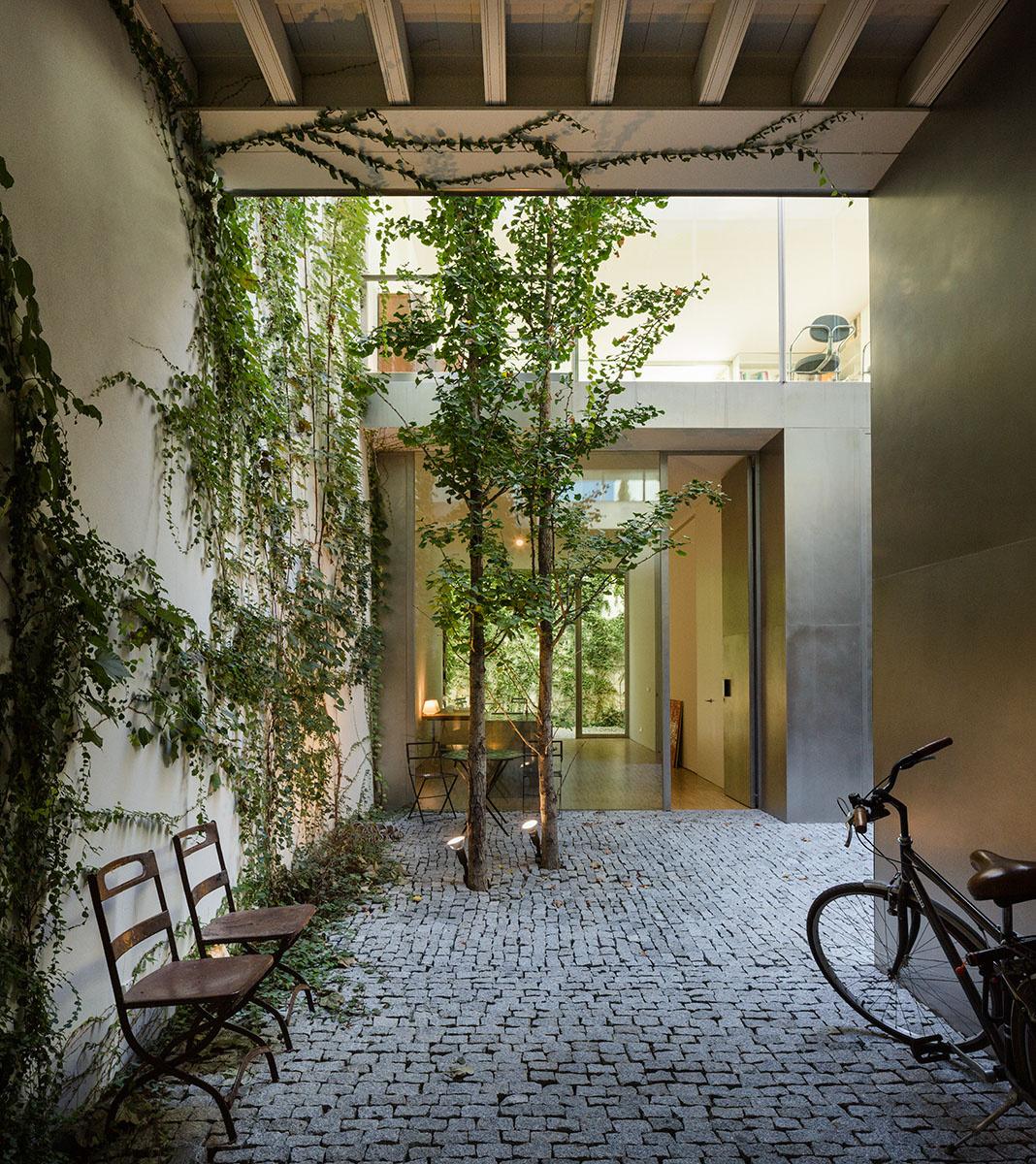 Rehabilitaci n de una vivienda en el casco hist rico de for Cafe el jardin centro historico